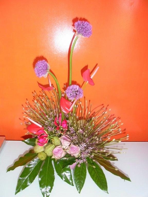 zomers bloemstuk