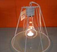 Hangend sfeerlichtje/lamp, wit