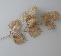 bladeren goud glitter vertakt