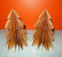 Imbarro gouden kerstboompjes