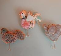 imbarro haan kip en kuiken nieuwe kleurtjes voorjaar
