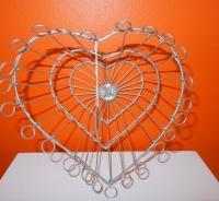 zilverkleurig metalen mandje van Gina Da