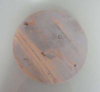 Kitchen Trend steigerhouten plateau met grijze gloed