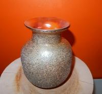 glazen vaasje champgane kleur