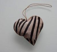 leren harten, mooi en super stoer, zebra