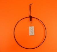 Mrs Bloom, ophang cirkel, zwart metaal