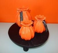 Luimes en Luimes papavervaasjes, oranje