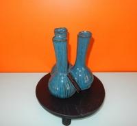 Luimes & Luimes Knoflookvaas petrol blauw