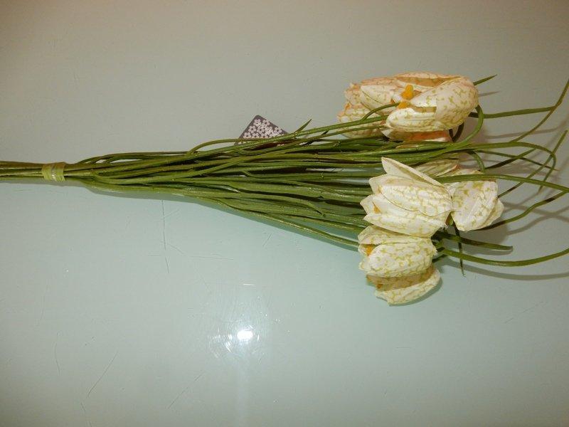 kievitsbloemetjes wit/groen