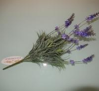 kunst lavendel grijs met blauw, mooi vertakt